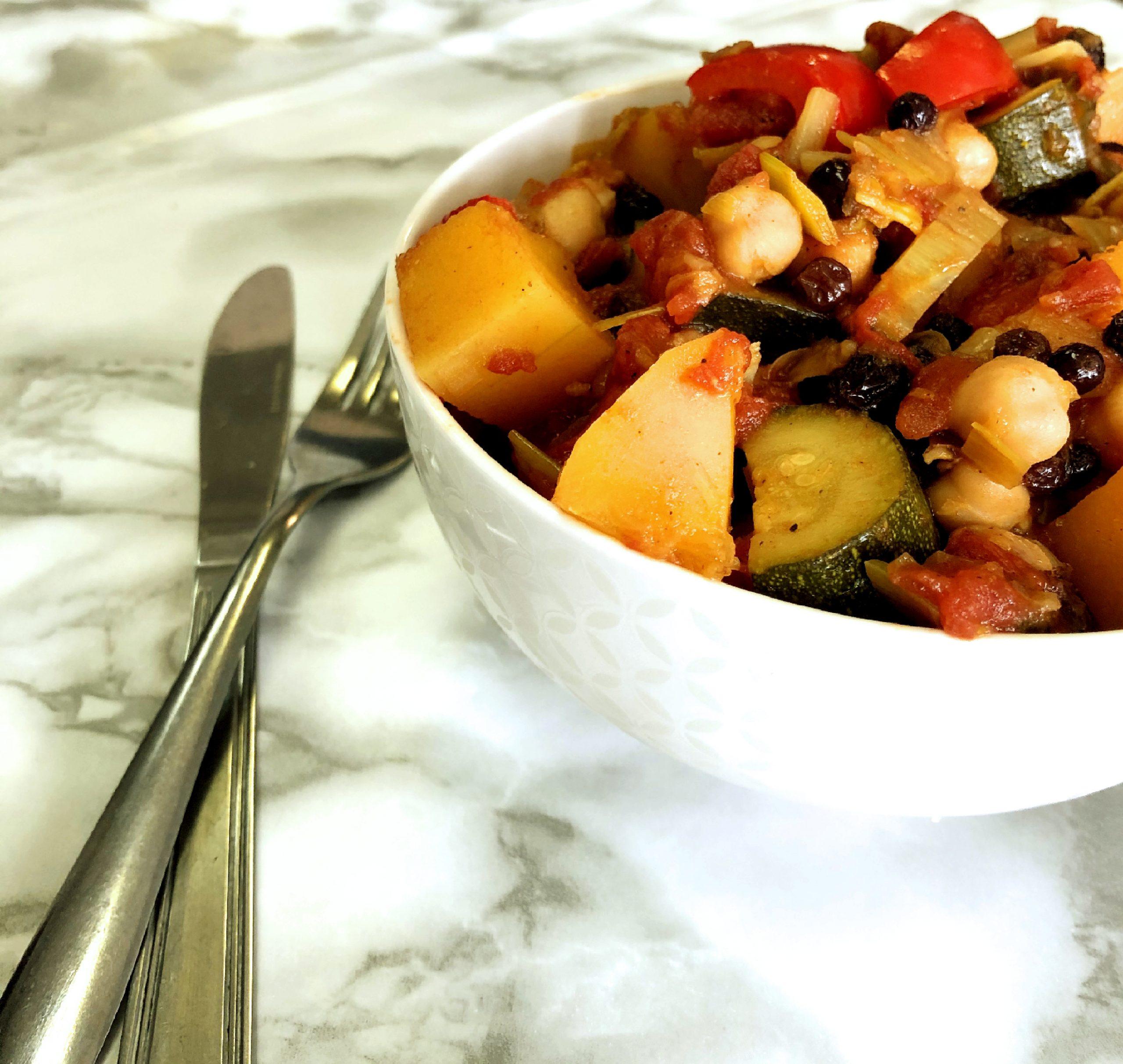 Couscous végétarien à la courge